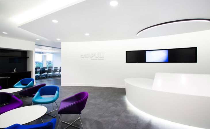 Contemporary office fit-out of new HQ
