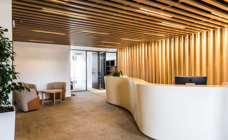 Neue Geschäftsräume für ein Immobilienunternehmen