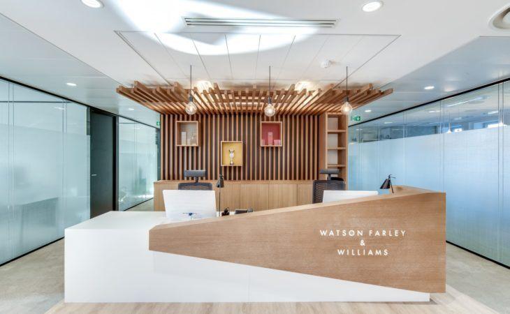Design e entrega de escritórios de advocacia