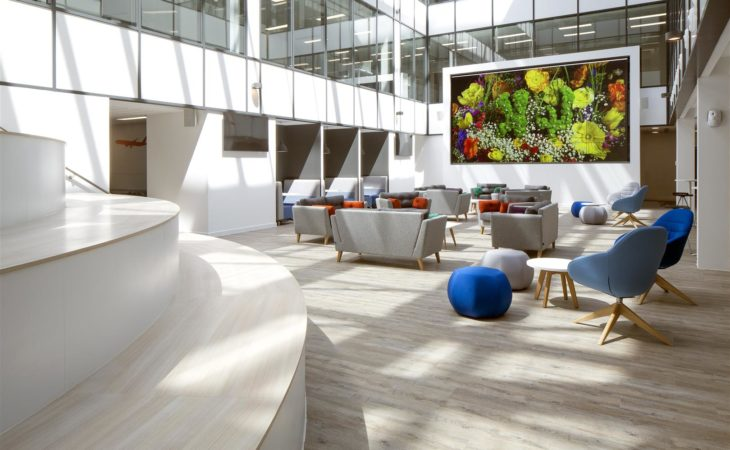 An office fit-out to help shape the future of travel
