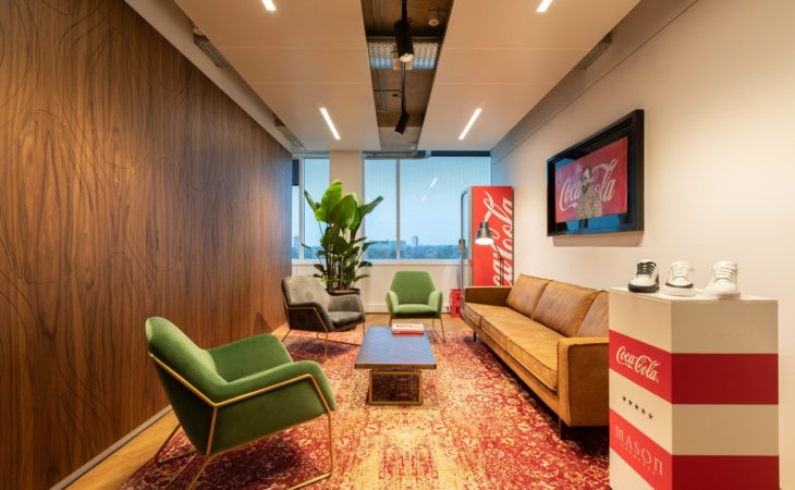 Coca-Cola NL and CCEP in totally new work environment