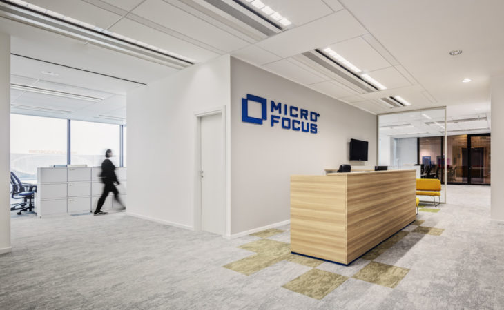 Micro Focus offices: identity, comfort and innovation