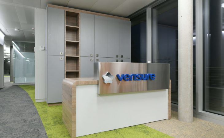 Fit-out of a 1400 sqm new building