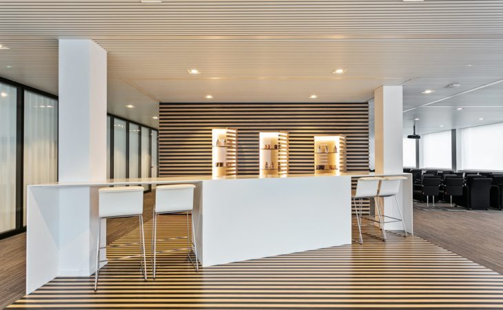 Office fit-out in Antwerp