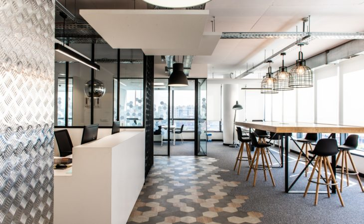 A  new office fit-out for a Clean Desk policy