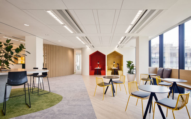 Saúde e bem-estar no trabalho: projetando espaços para a felicidade