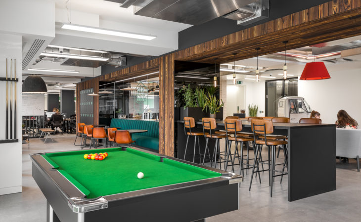 Fun and flexible workspace to attract and retain top talent