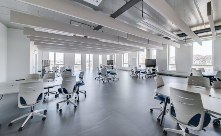 New learning spaces for students
