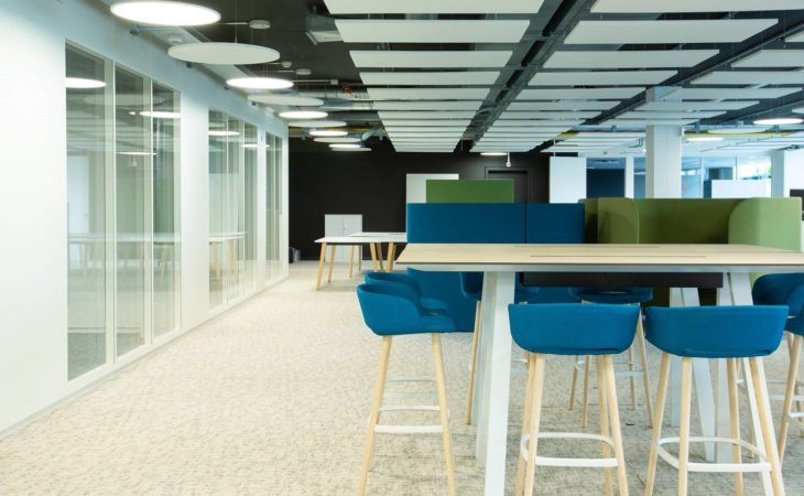 Designing new open-plan offices