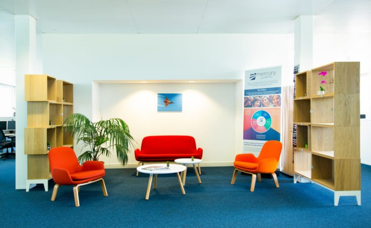 Reorganising departments and modernising spaces