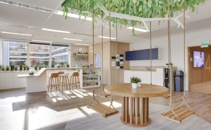 Reinventing offices for a new way of working