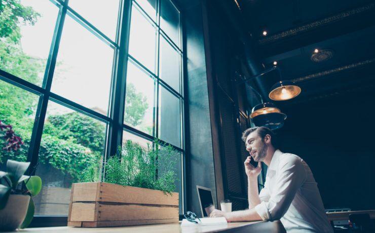Porque o design verde do local de trabalho cria um factor de bem-estar