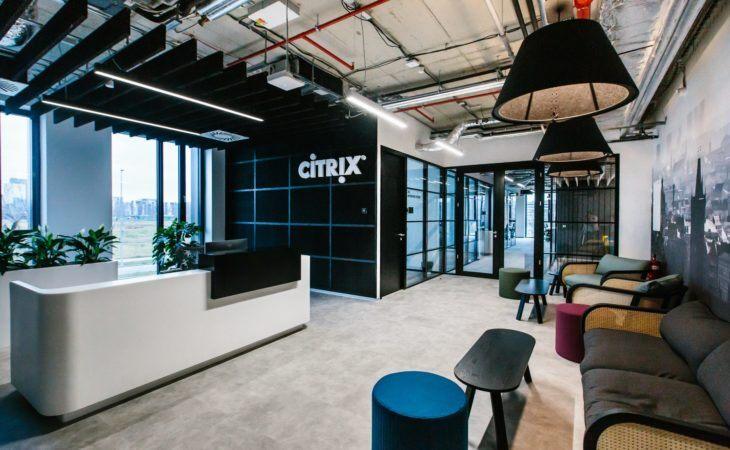 Citrix – design interiéru