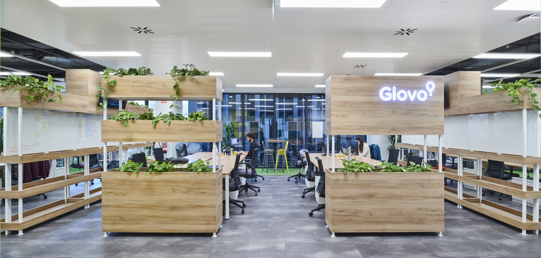 Integrated partitions, Glovo Barcelona