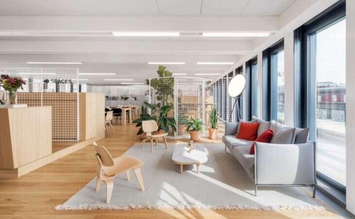 Uno spazio di coworking funzionale e sostenibile
