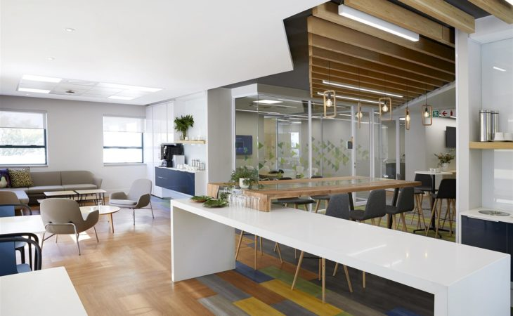 Nature-inspired connected offices for global software giant