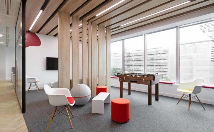 Rénovation des bureaux de Klx