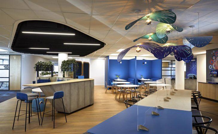 Des bureaux dynamiques pour le géant des snacks et des boissons