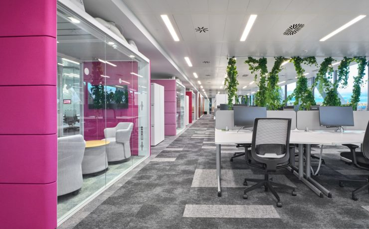 Working well: office design for mental health