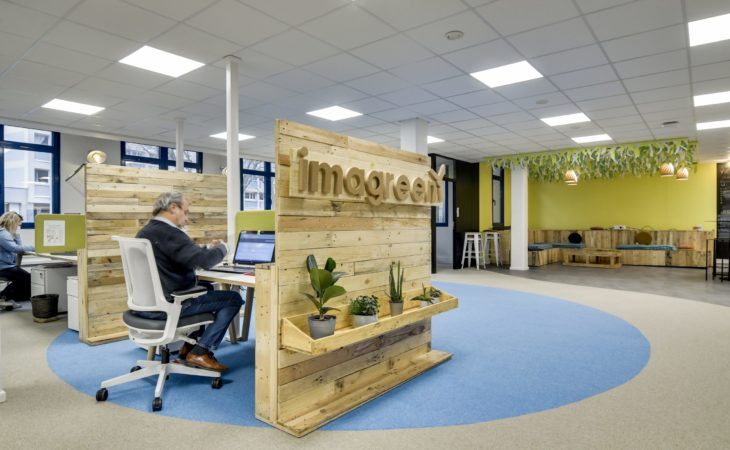 IMAGREEN's workspace design and fit-out in Lille