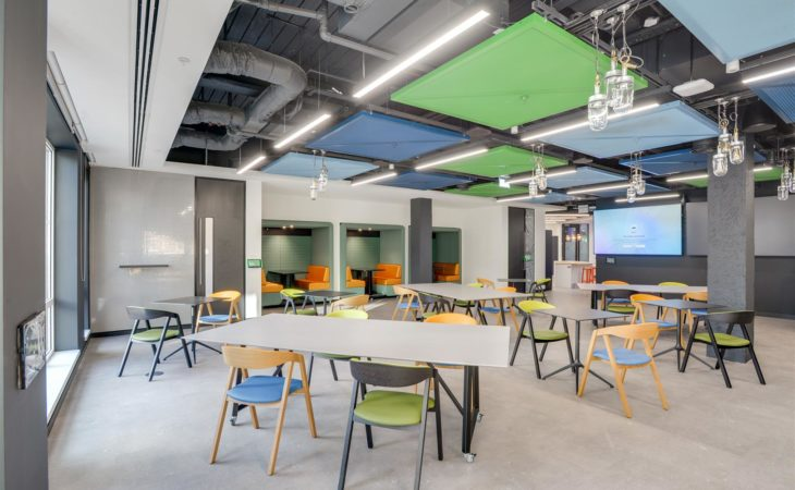 Destination workplace for multinational software corporation