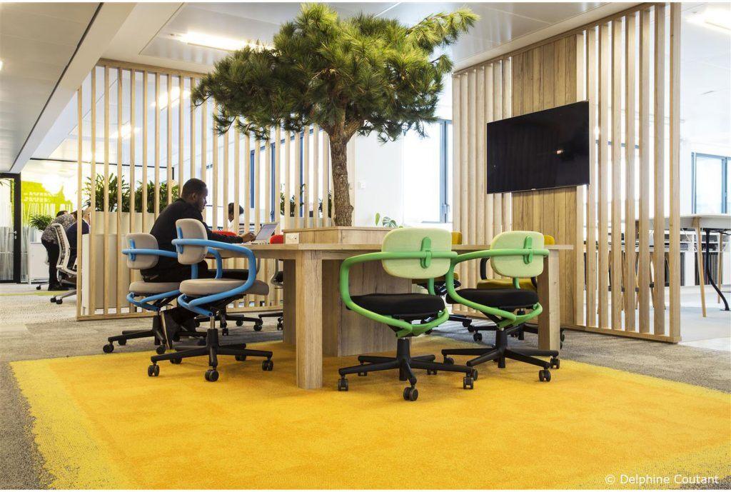 Biura Interface w Paryżu, Francja