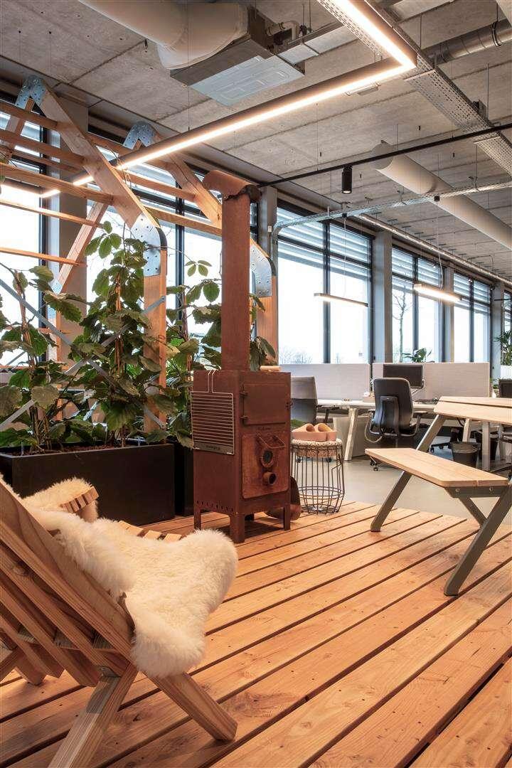 Bureaux d'InteriorWorks à Amsterdam, Pays-Bas (crédit photo: Rick Geenjaar)