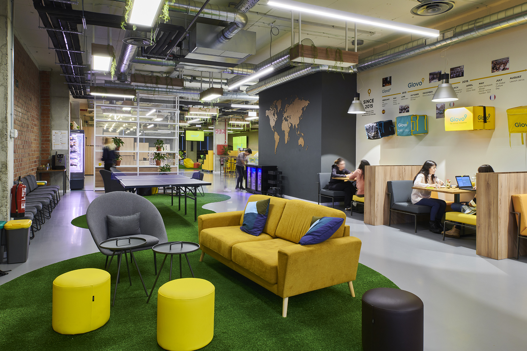 Glovo offices in Barcelona, Spain