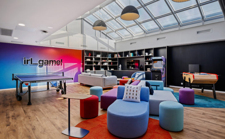 New spaces to make people want to go to the office again