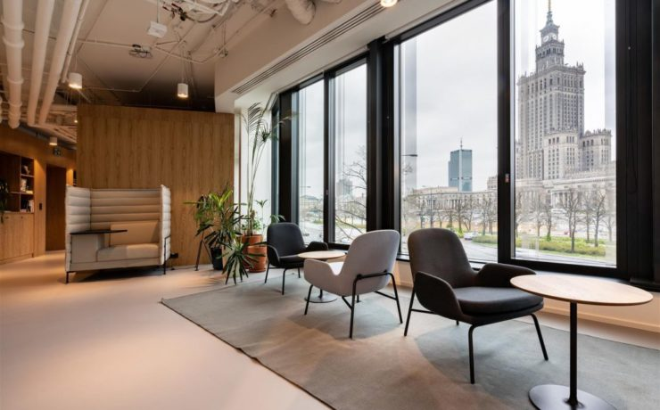High design, low density: the post-pandemic office