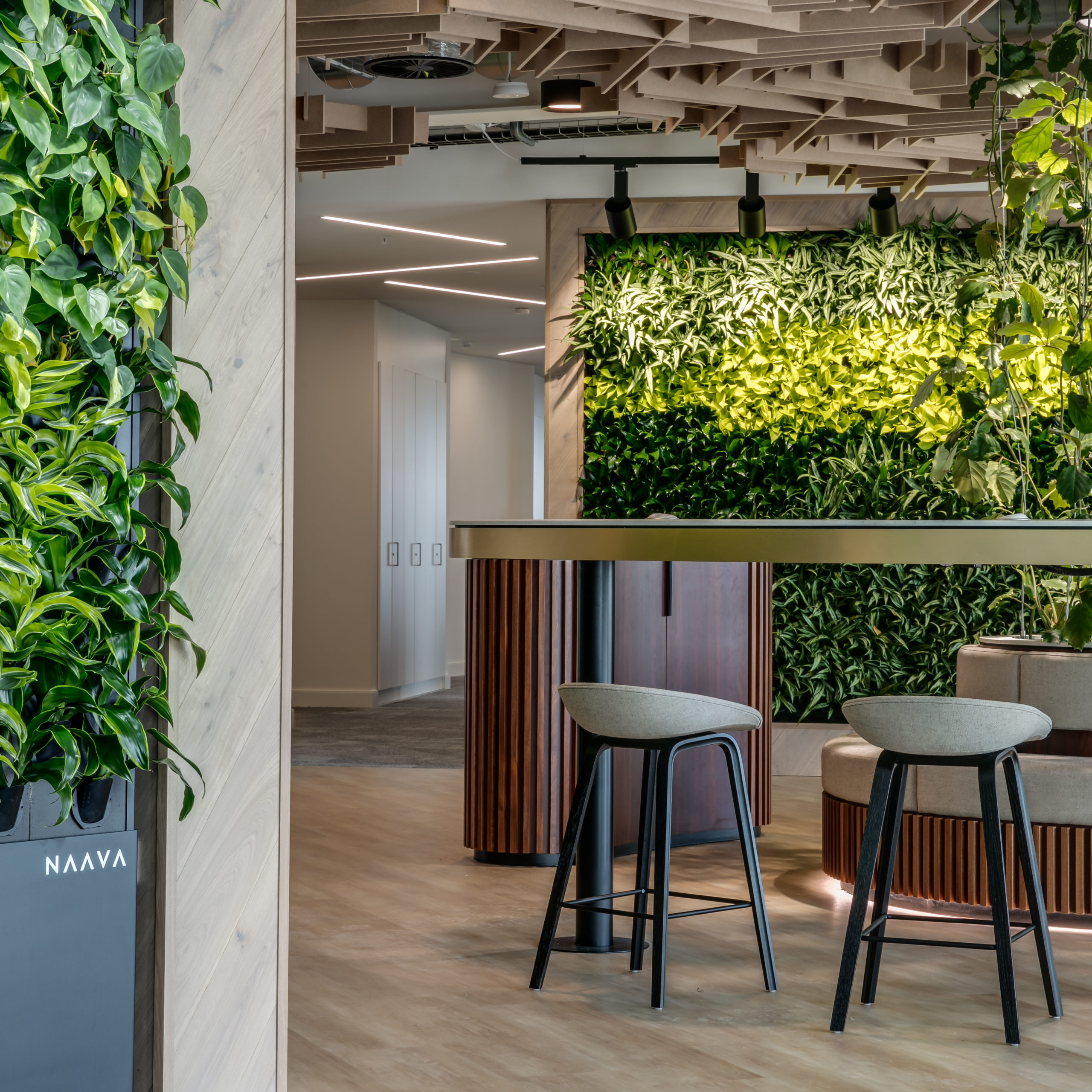 Biophilia is central to the space we designed for JLL's office in Manchester, UK