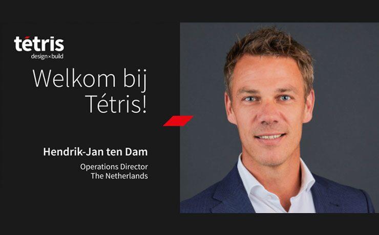 Hendrik-Jan ten Dam is aangesteld als Operations Director bij Tétris Netherlands