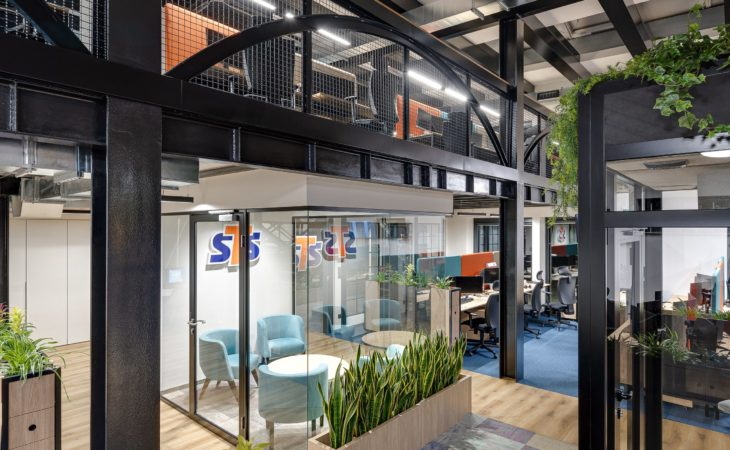 From a warehouse to a spacious office