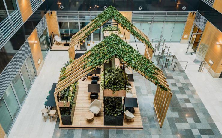 Perché gli spazi verdi sono un must-have in ogni ambiente di lavoro